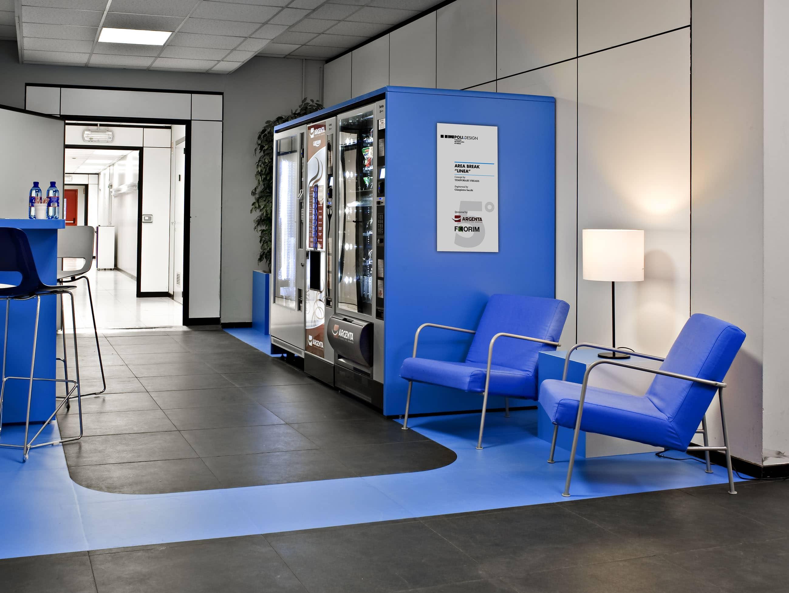 Da argenta e poli design arriva linea la nuova area break for Poli design