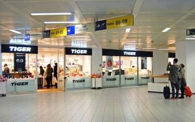 cheaper 69ac5 69730 Tiger apre all'Aeroporto di Torino Caselle - retail&food