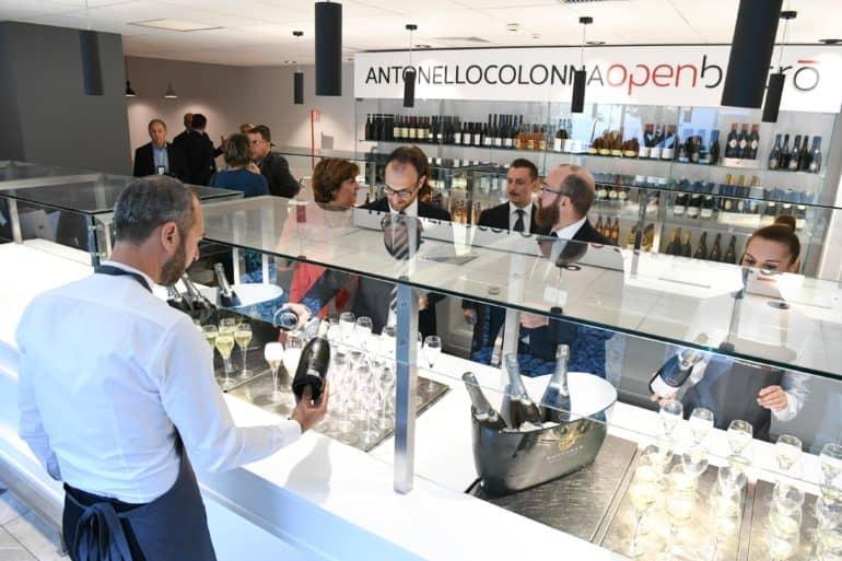 Nuova veste per Antonello Colonna Open Bistrò a Fiumicino