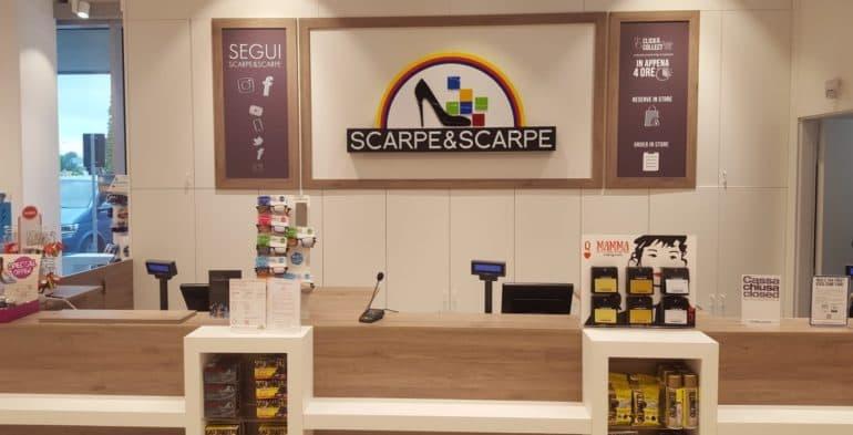 new styles c886b b97aa New look per il nuovo negozio Scarpe & Scarpe a Roma Salaria